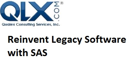 Reinvent Legacy Software with SAS