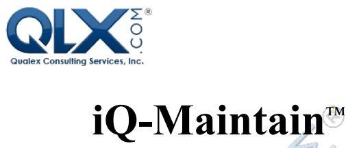 iQ-Maintain